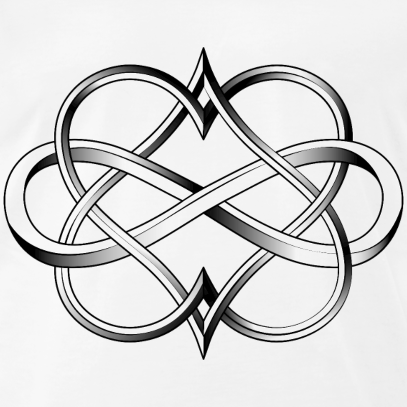 Download Celtic Heart Infinity Tattoo Clipart Infinity Symbol Tattoo