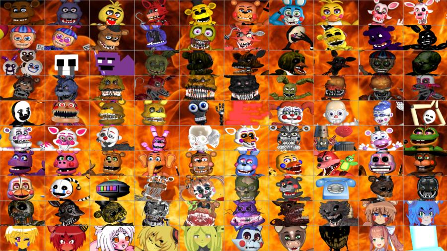 Ultimate Custom Night clipart Ultimate Custom Night Freddy