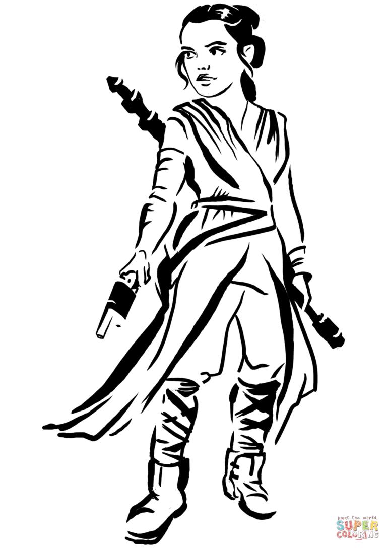 Download Star Wars Dibujo Rey Para Colorear Clipart Rey Kylo Ren