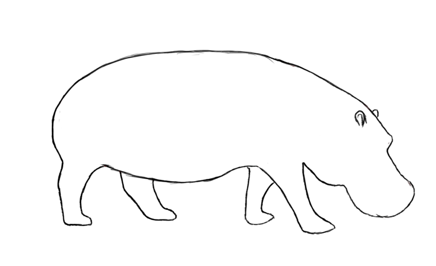 Pictures to draw four. Download animal with legs