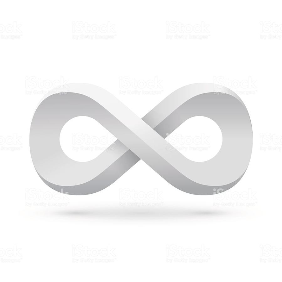 Download White Infinity Symbols Icon Clipart Infinity Symbol