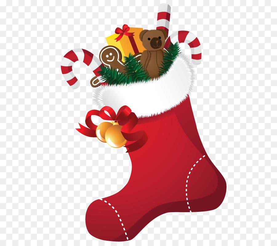 Christmas Stockings Cartoon.Christmas Stocking Cartoon Clipart Illustration Gift