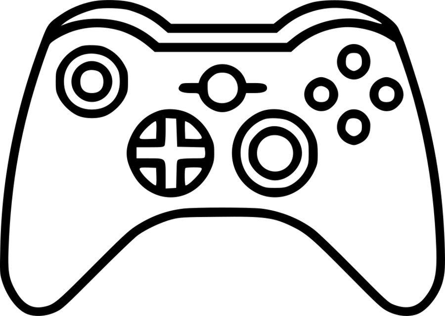 Download Symbole Manette Jeux Vido Clipart Xbox One Controller Xbox