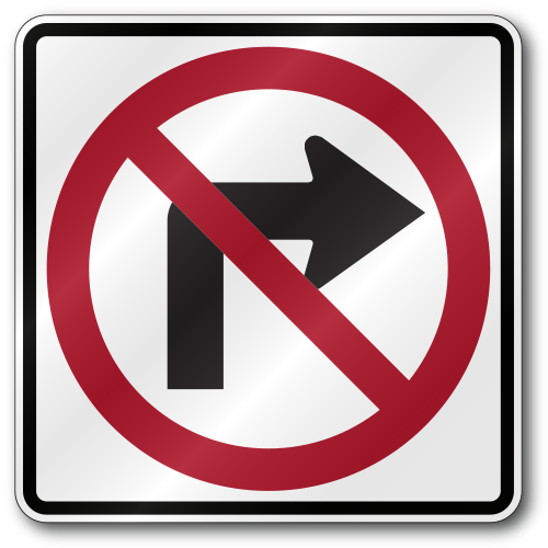 no right turn sign clipart Traffic sign Stock photography Royalty-free