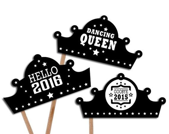 diy props new years clipart new years eve party