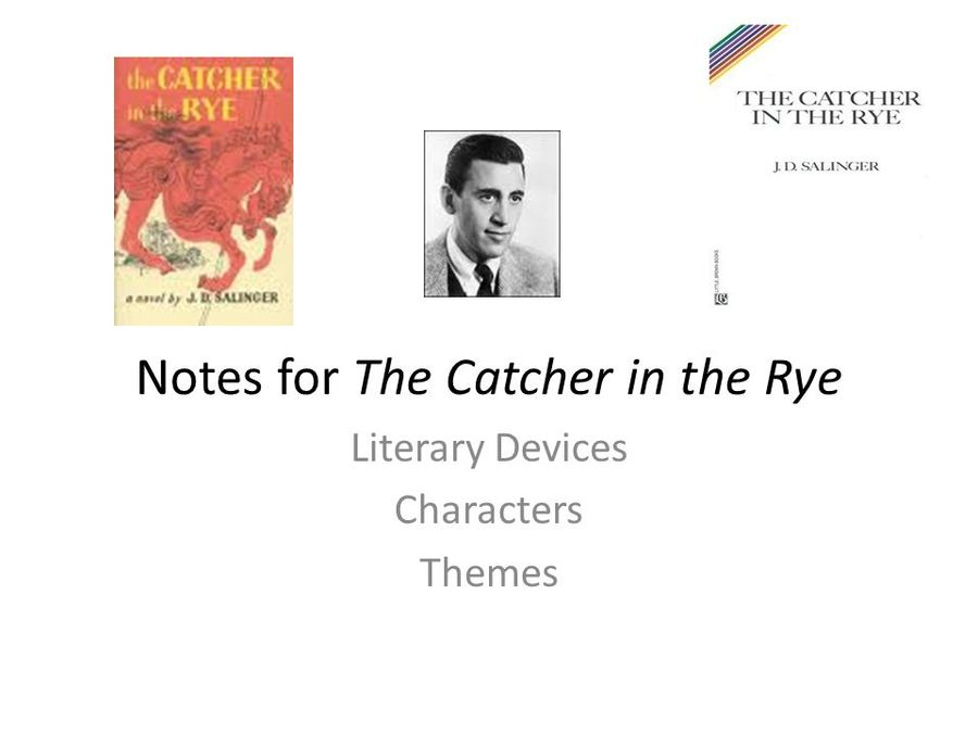 Download Catcher In The Rye Book Clipart J D Salinger The