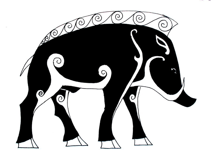 Download Ares Wild Boar Clipart Ares Symbol Elephant Cartoon
