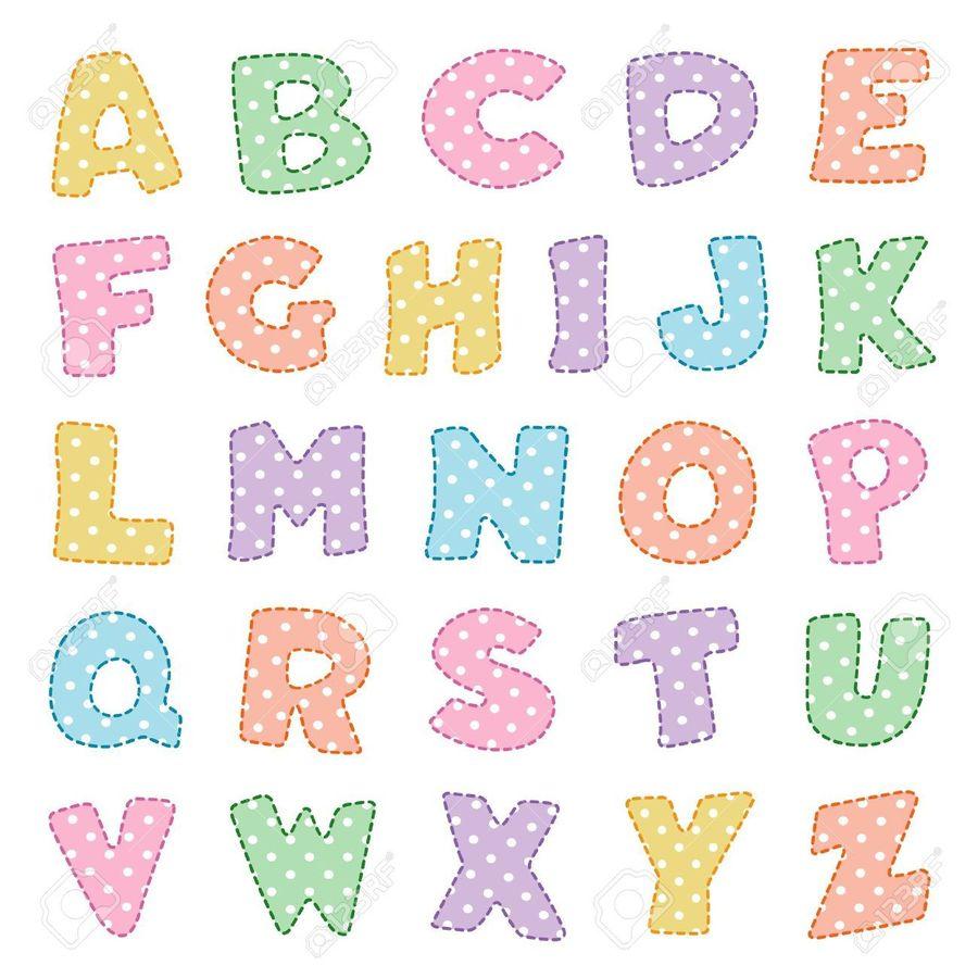 alphabet bubble letter colorful clipart letter case alphabet