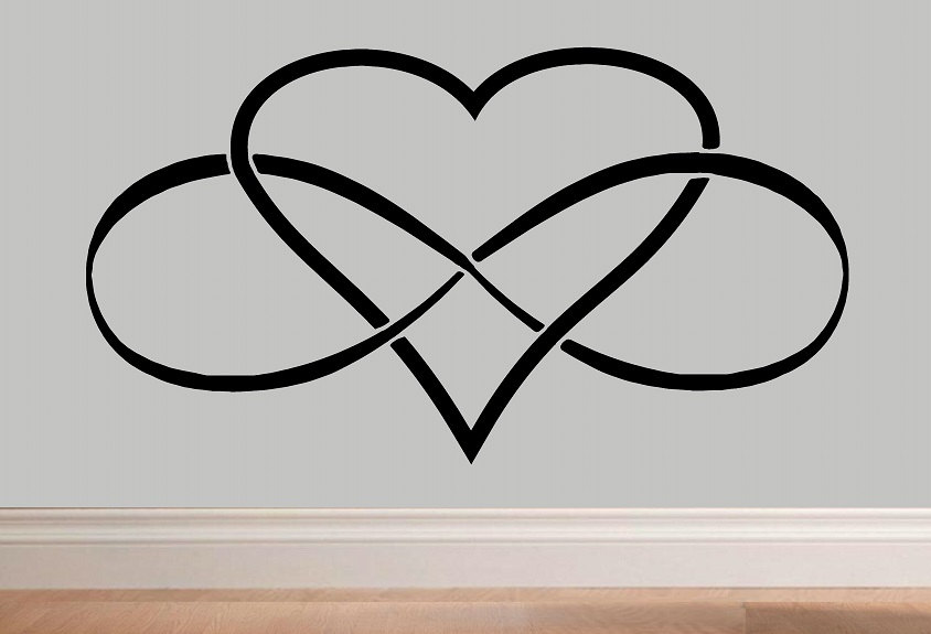 Clipart Resolution 844575 Everlasting Love Infinity Heart Clipart