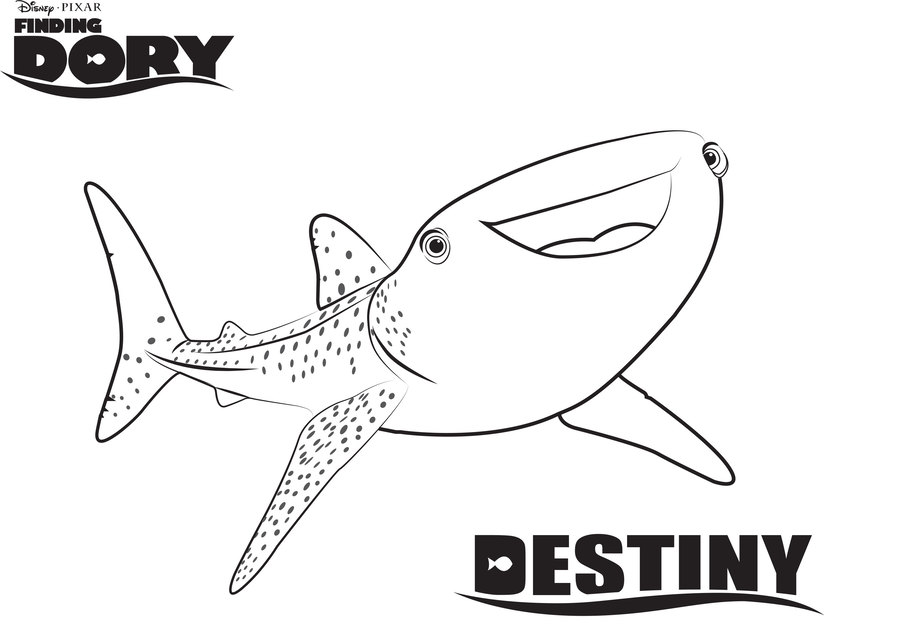 Download finding dory coloring pages clipart Coloring book ...