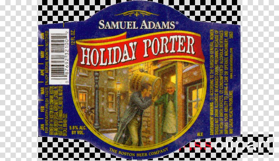 label clipart Beer Porter Label