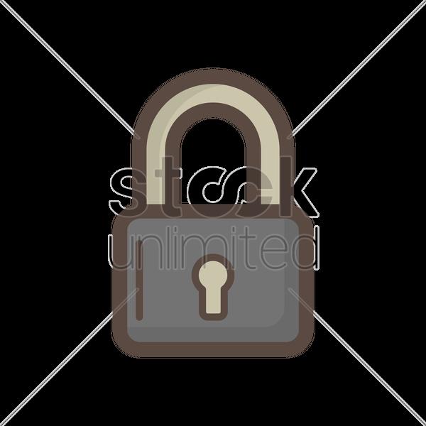 padlock clipart Padlock Font
