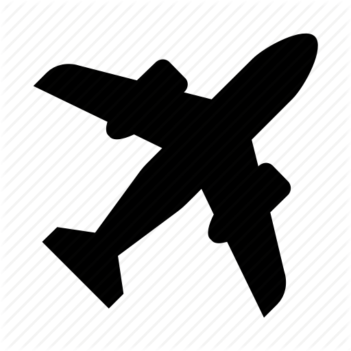 Airplane Silhouette Clipart Airplane Wing Silhouette