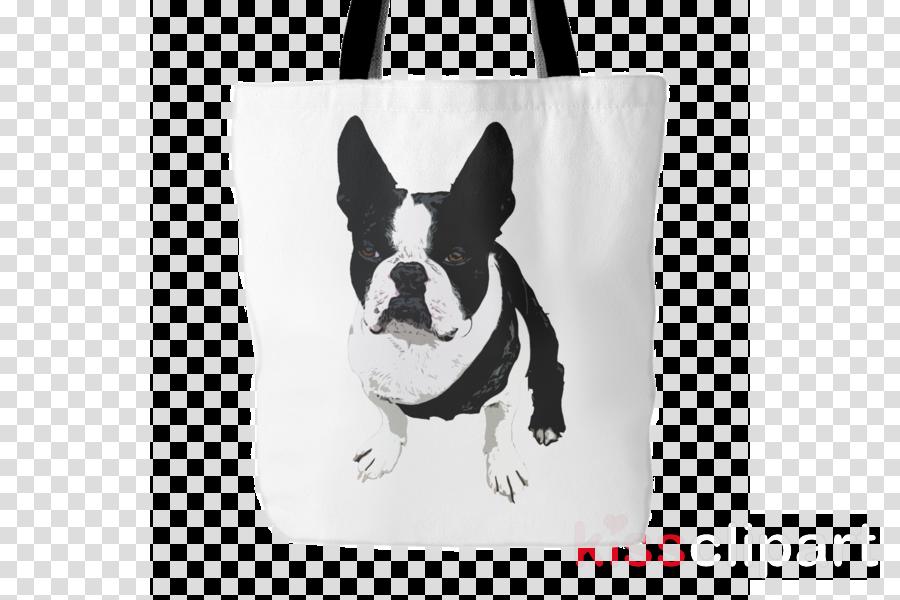 boston terrier dog tote bags - boston terrier bags clipart Boston Terrier Dog breed Tote bag