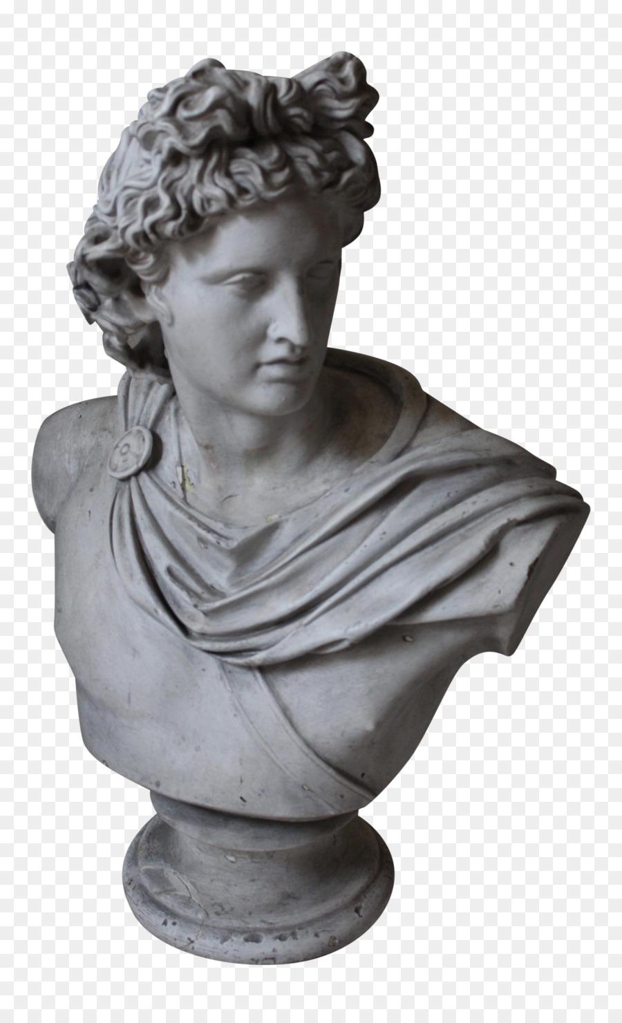 apollo statue png clipart Apollo Belvedere Bust