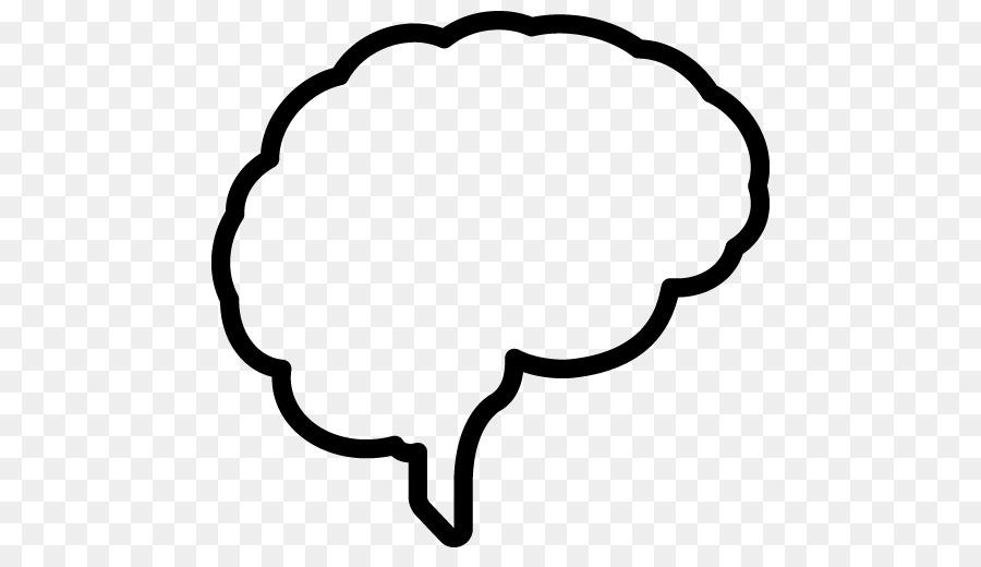 Brain Outline clipart - Brain, Line, Font, transparent clip art