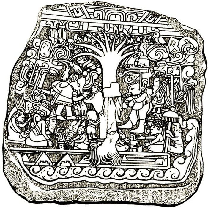 mayan sacrifice pit - 671×713