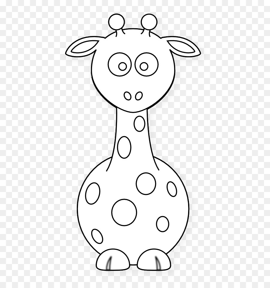Download baby giraffe coloring pages clipart Baby Giraffe Coloring ...