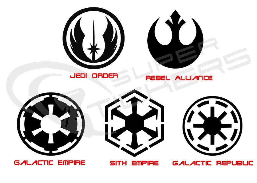 Download Stickerlove Galactic Empire Symbol Removable Wall Sticker