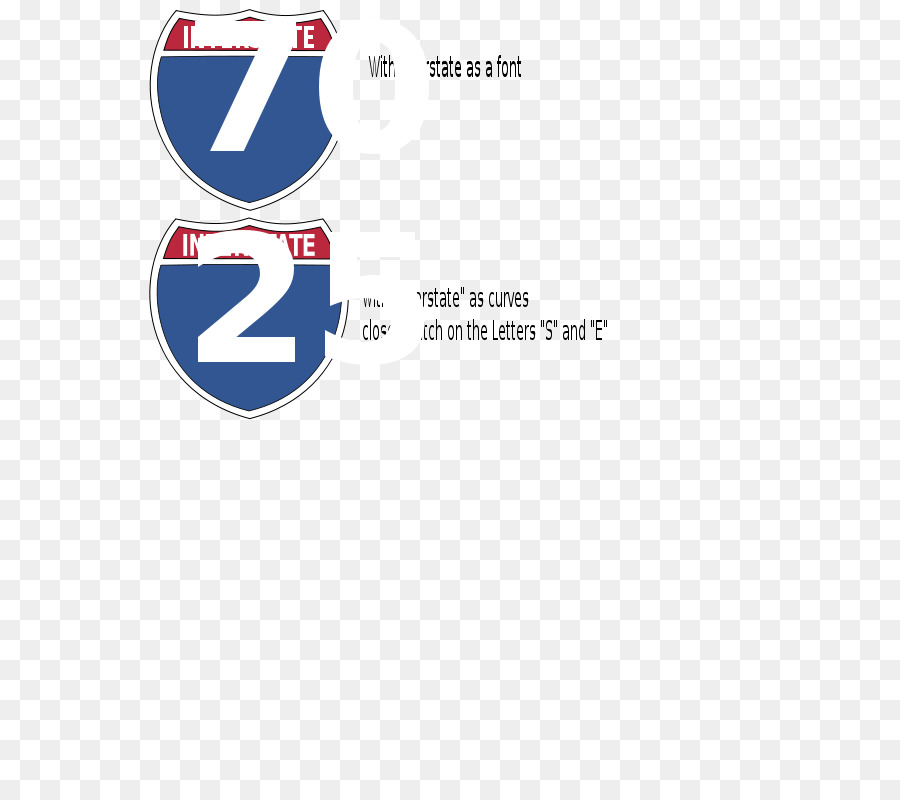 interstate highway signs clipart United States of America US Interstate highway system
