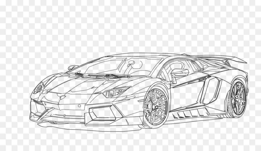 Sketch Car Drawing Transparent Png Image Clipart Free Download