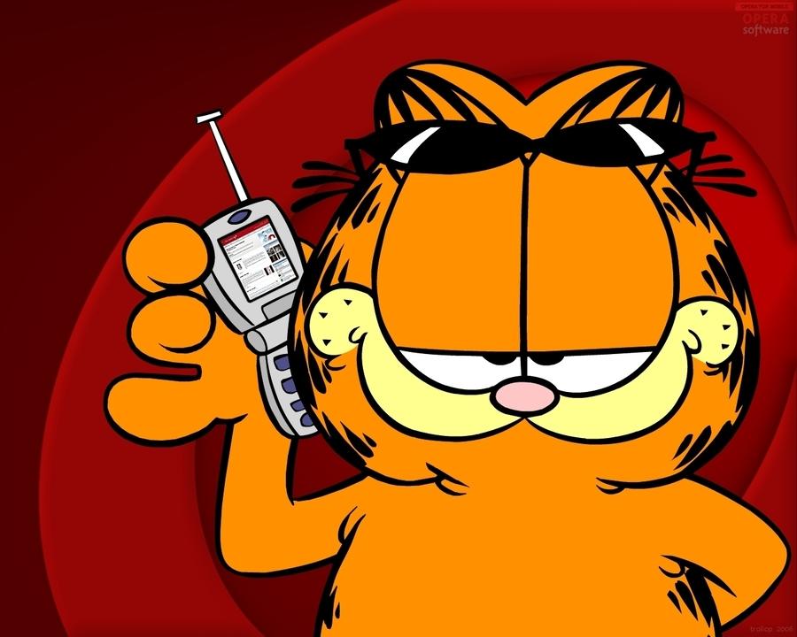 Download Garfield Phone Call Clipart Odie Desktop Wallpaper