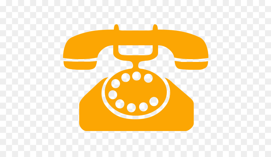 Phone yellow. Home icon clipart telephone