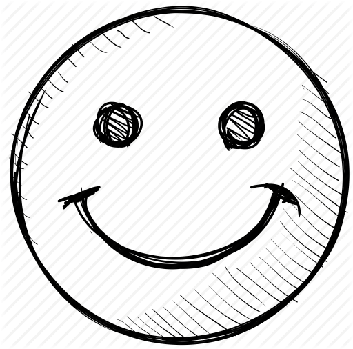 Smiley Face Background Clipart Drawing Smile Sketch Transparent Clip Art
