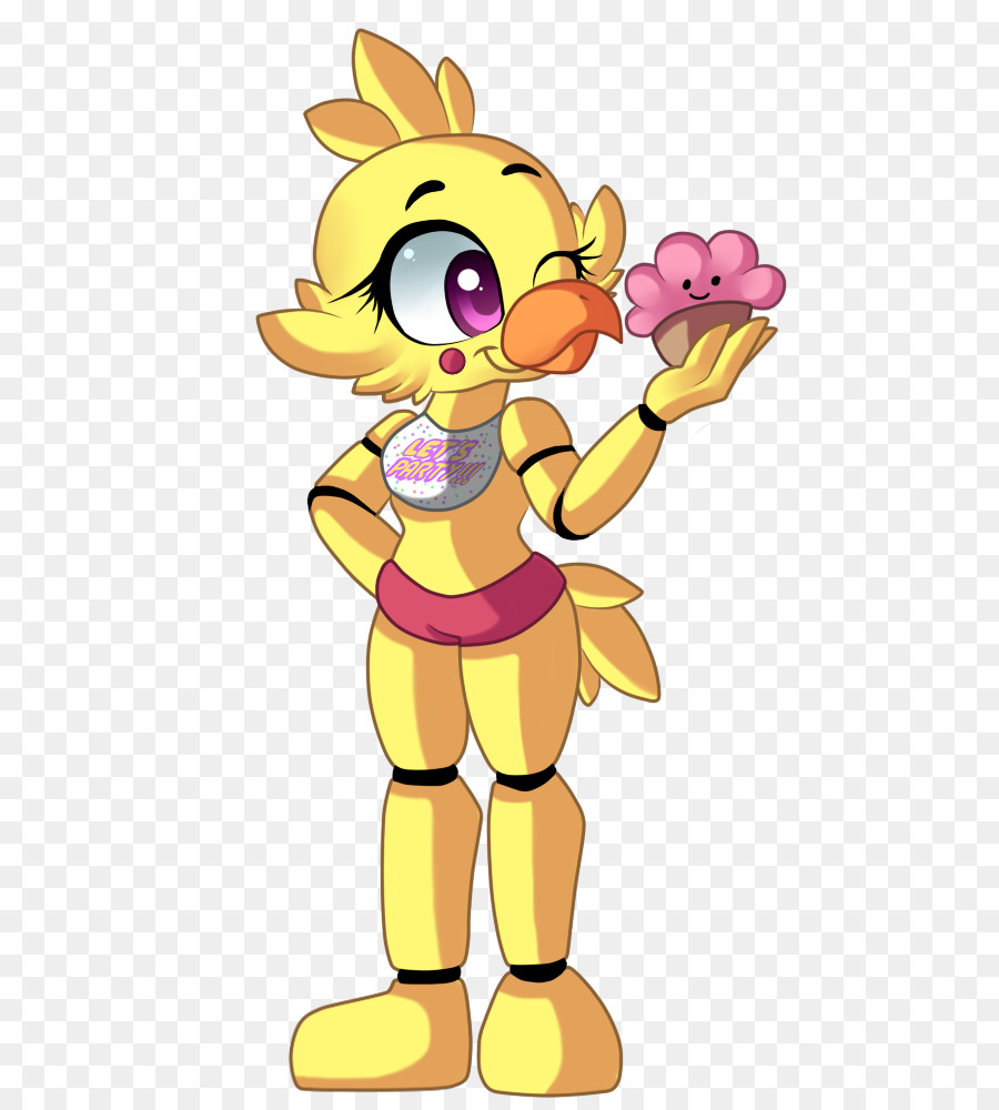 fnaf toy chica clipart Five Nights at Freddy's 2 Five Nights at Freddy's: Sister Location