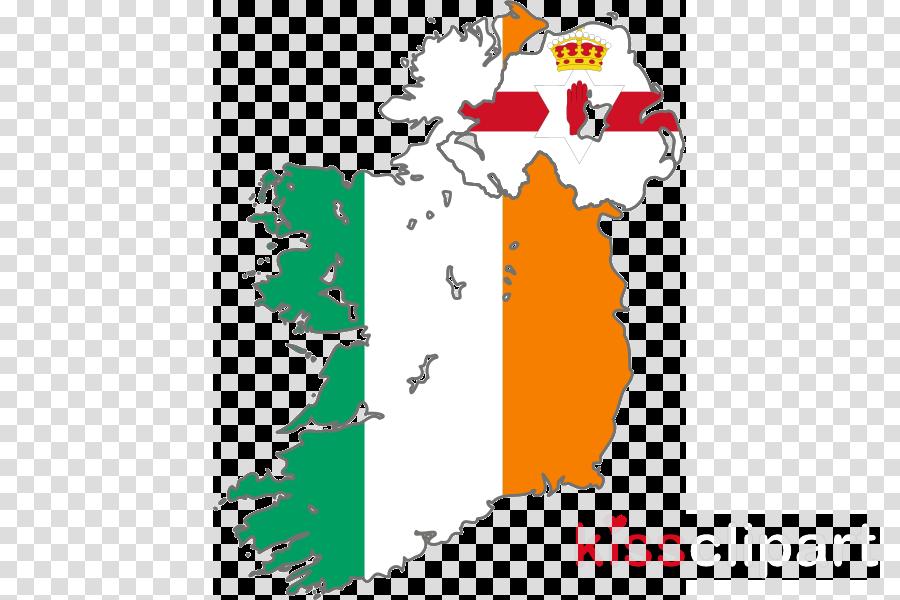 ireland flag map clipart Republic of Ireland Flag of Ireland Flag of Northern Ireland