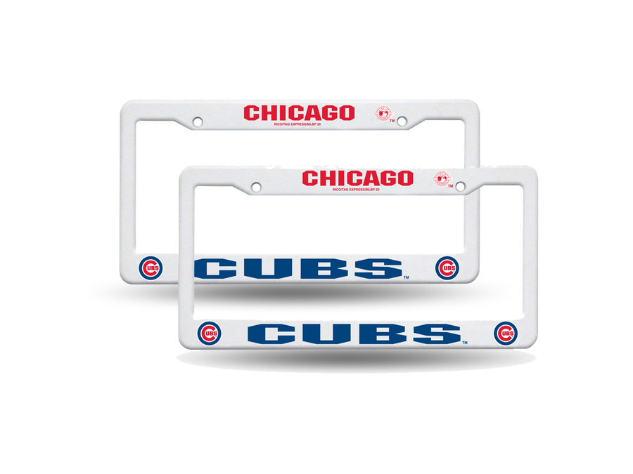 Download chicago cubs rico industries plastic licence plate frame ...