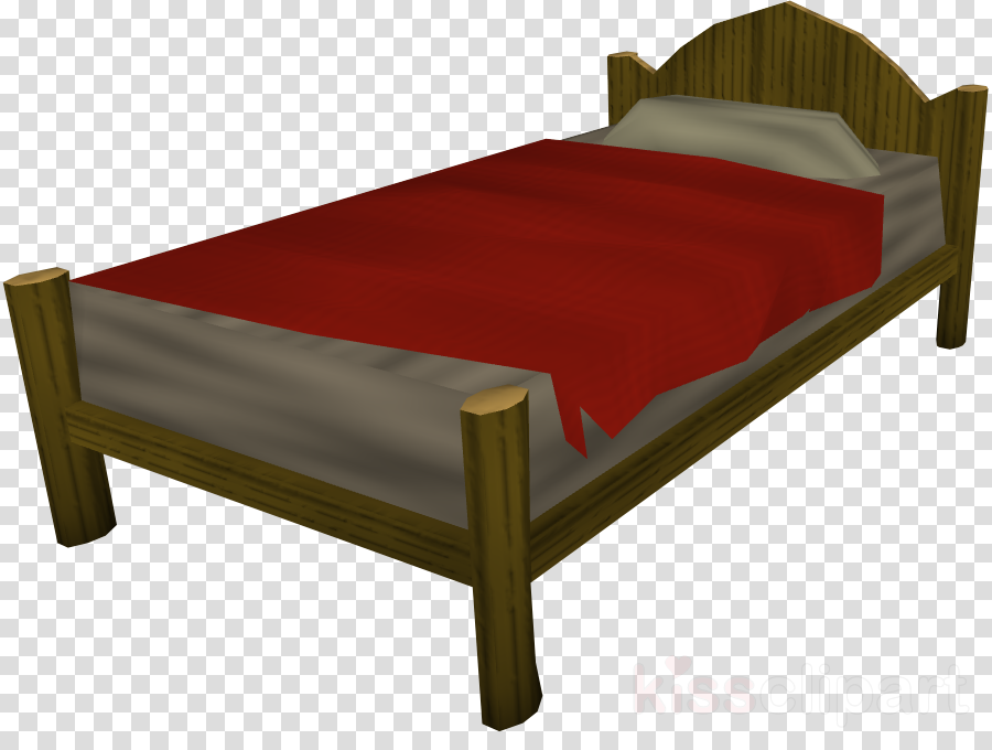 Bed clipart Bed frame Table