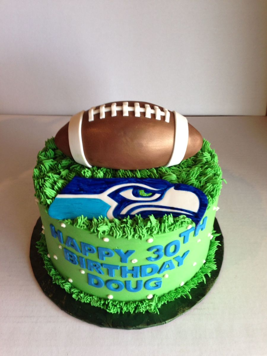 Download Bday Cake Seahawks Clipart Seattle Seahawks Bakery Birthday