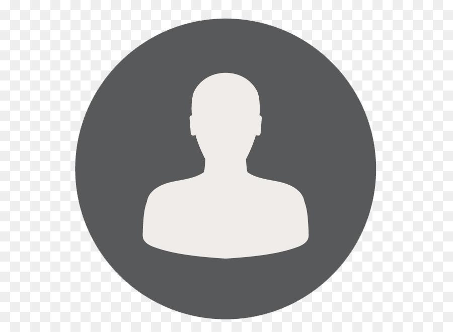 Person circle. Icon clipart head font