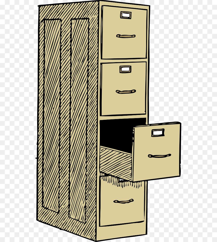 Kitchen Cartoon Clipart Furniture Desk Line Transparent Clip Art