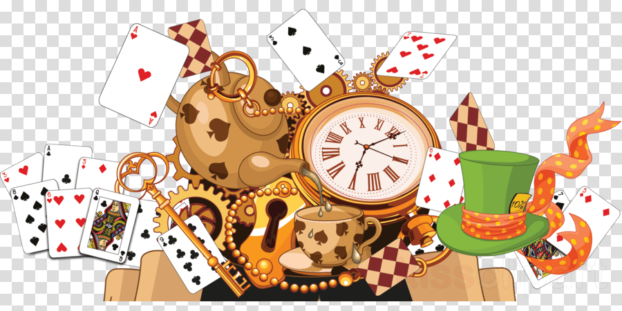 Download Alice In Wonderland Frame Png Clipart Alices Adventures In