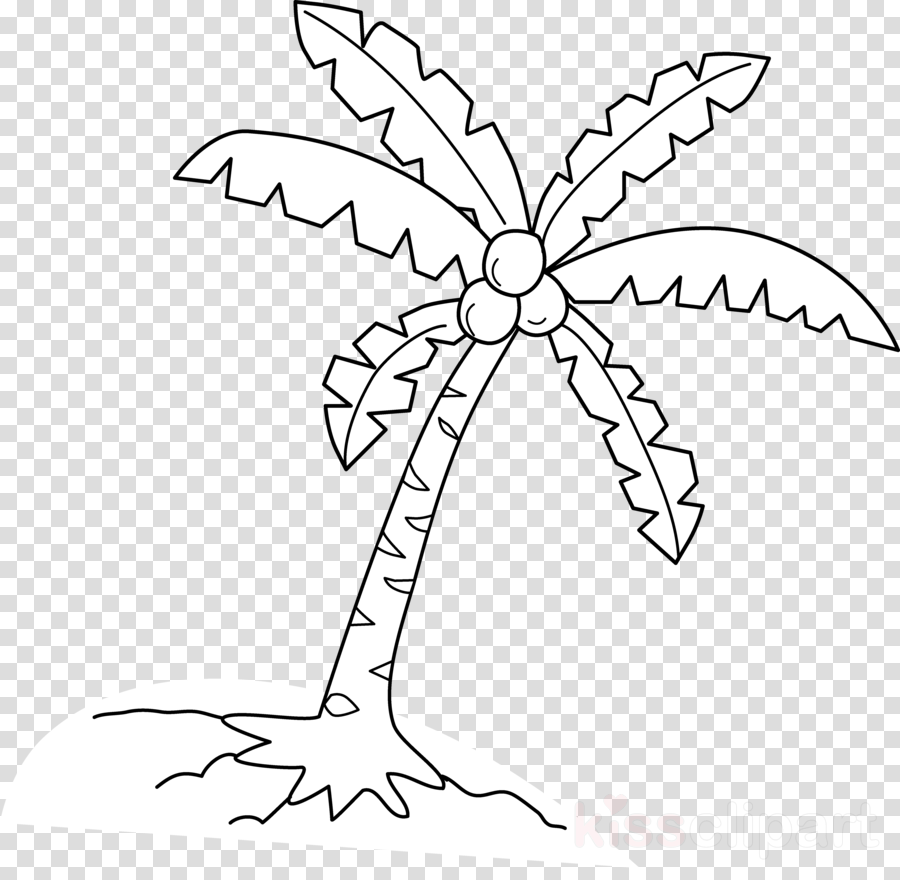 coloring pages of coconut milk clipart The Enchanted Forest Coloring book Coconut