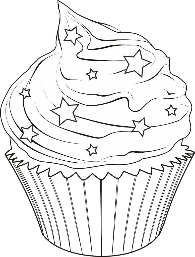 Download dibujos para colorear cupcakes clipart Cupcake Drawing ...
