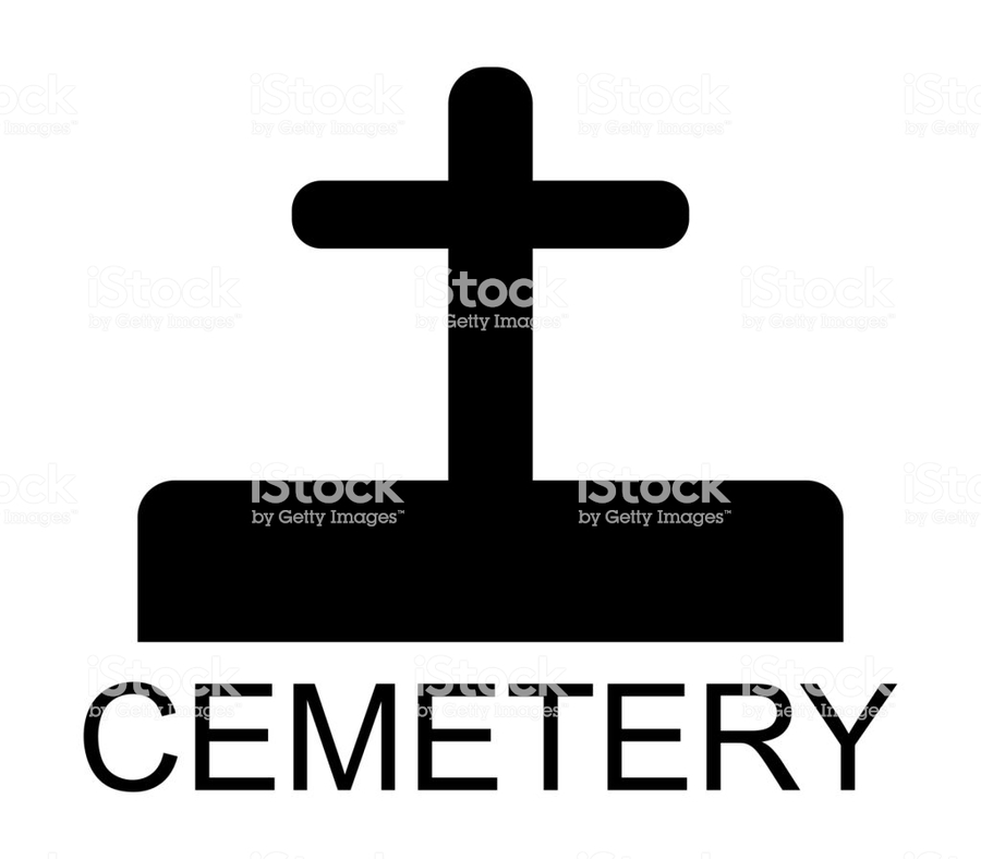 Download Cemetery Clipart Cemetery Illustration Cross Text Font