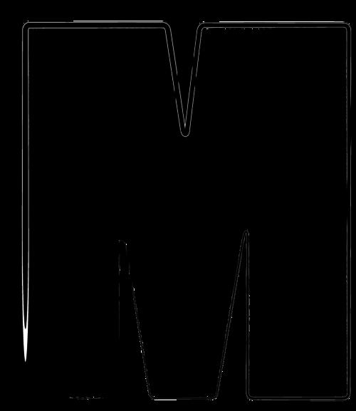 clipart resolution 500577 mandala letter m clipart letter m poster