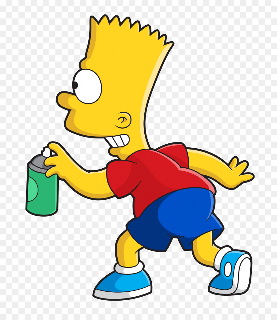 bart simpson png clipart Bart Simpson Homer Simpson Clip art