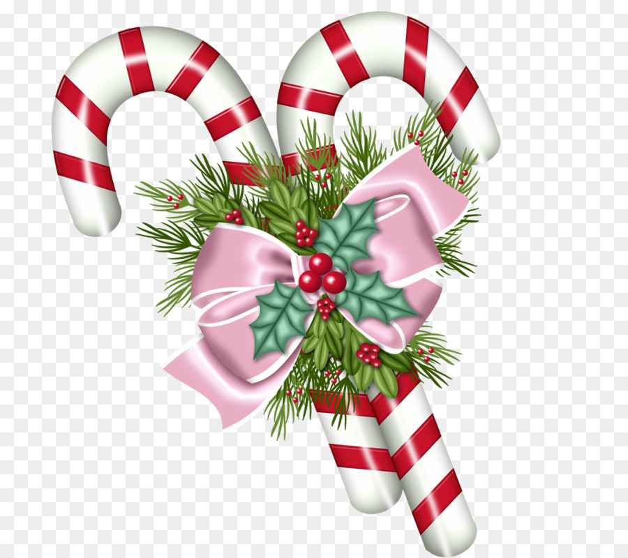 Candy Cane Christmas Clipart Flower Christmas Food