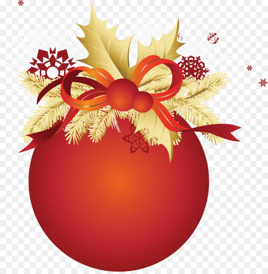 pelota navideña png clipart Clip art