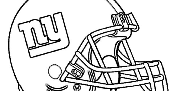 Download New York Giants Coloring Pages Clipart NFL Jets