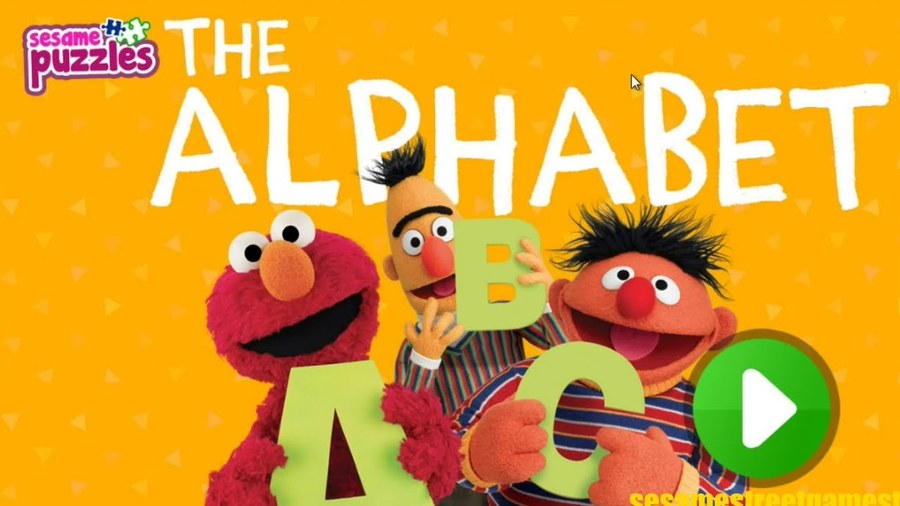 Elmo Alphabet Text Cartoon Font Advertising Graphics