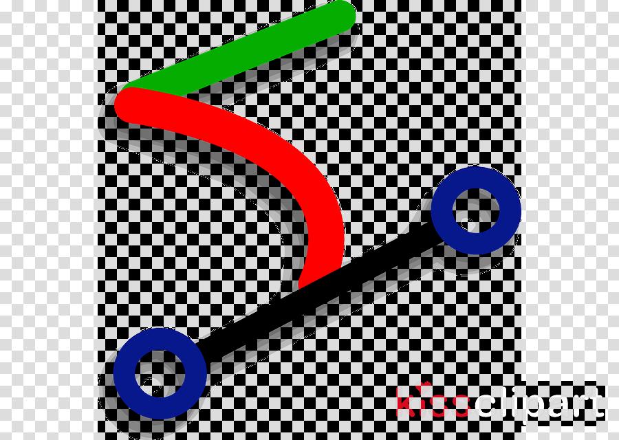 Bézier curve clipart Curve Clip art
