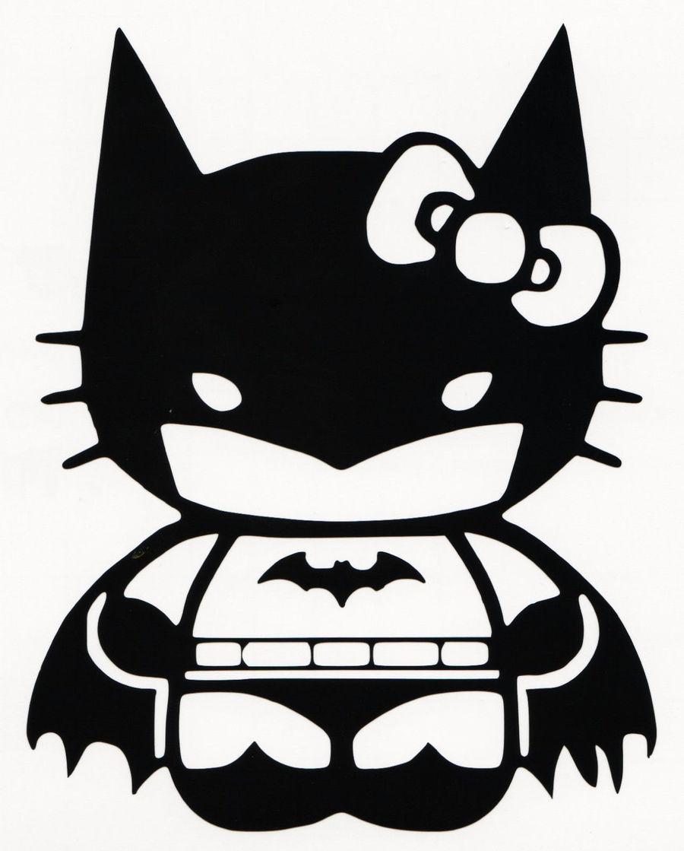 download hello kitty batman clipart batman batgirl decal batman