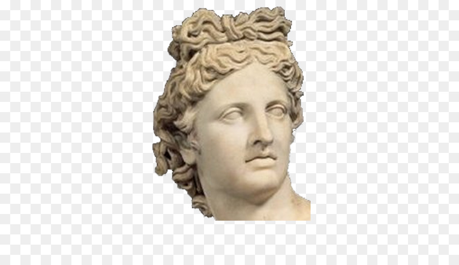 greek statue face png clipart Apollo Statue