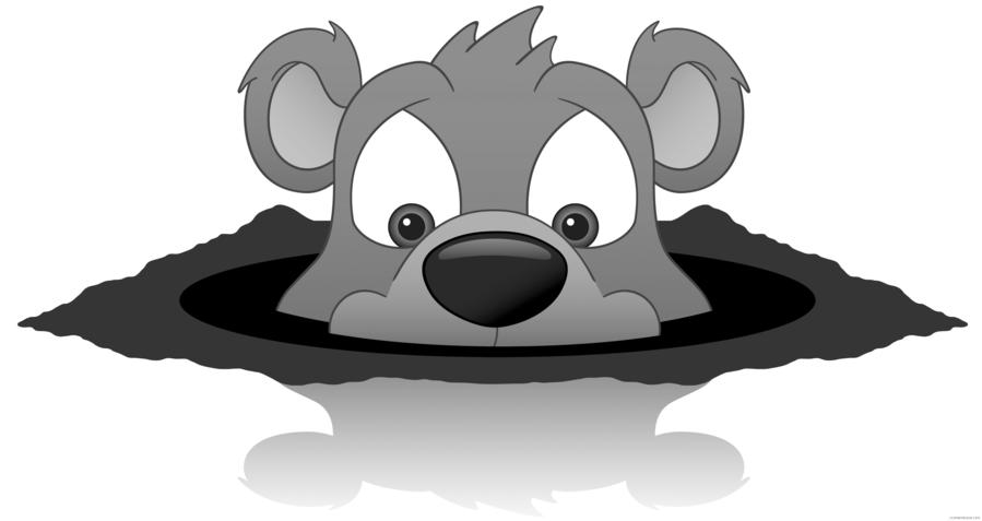 Clip art clipart The Groundhog Clip art