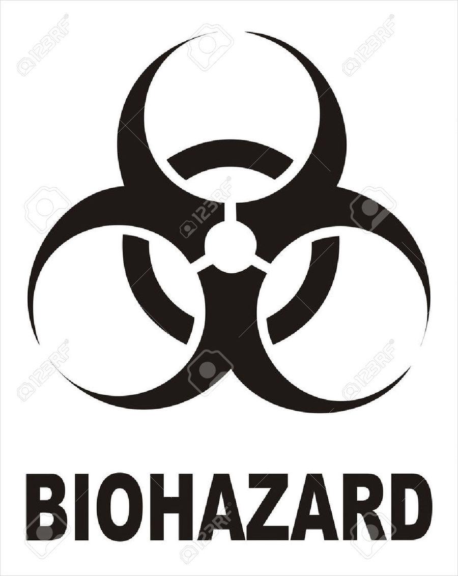 Download Biohazard Symbol Clipart Biological Hazard Symbol Signage